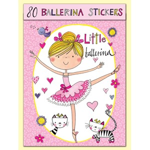 Stickers pakning, 80, Little Ballerina