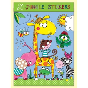 Stickers pakning, 80, Jungle