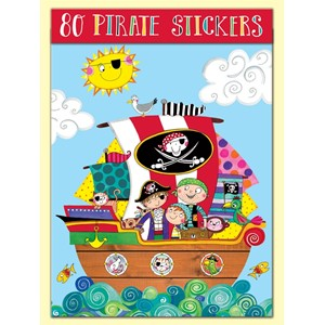 Stickers pakning, 80, Pirate