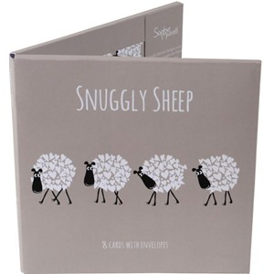 Kortmappe Sophie Morrell, 150x150, Snuggly Sheep 1