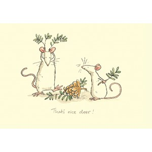 Kort Two Bad Mice: That`s Nice Deer