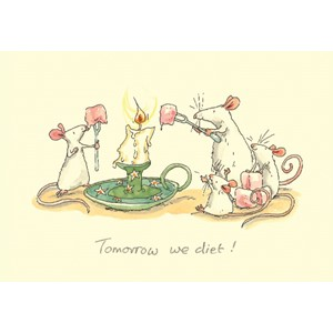 Kort Two Bad Mice: Tomorrow We Diet