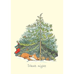 Julekort,Two Bad Mice, Silent Night