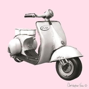 "Kort 100x100, Christopher Vine Design, ""Scooter"""