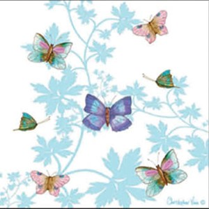 "Kort 100x100, Christopher Vine Design, ""Butterfly House"""