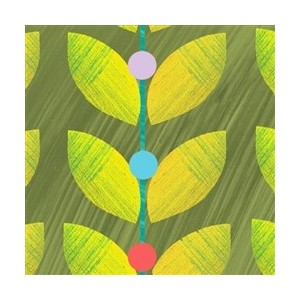 Minkort 71x71mm, The Square Card Co, Leaf