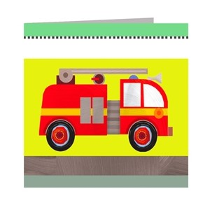 Minkort 71x71mm, The Square Card Co, Transport