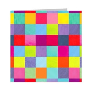 Minkort 71x71mm, The Square Card Co, Squares