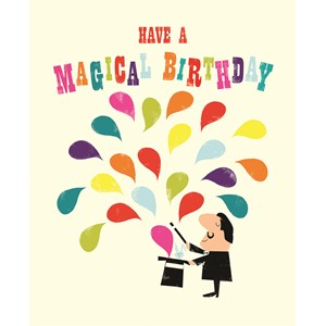 Kort, Ink Press, magical birthday