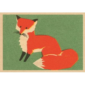 Doble kort,120x170, Vintage Matchbox, Fox