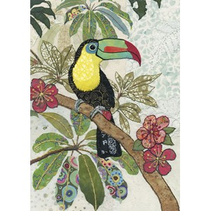 Doble kort 167x118, Amy`s Cards, Toucan