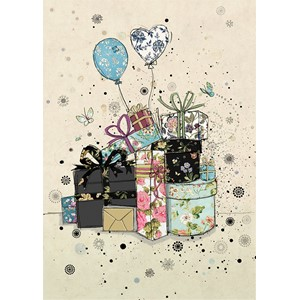 Doble kort 167x118, Black Ink, Gifts & Balloons