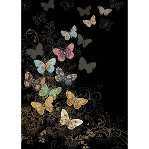 "Kort BUG ART 167x118, Jewels ""Butterfly Flight"""