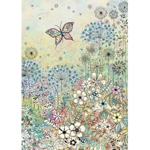 Doble kort 167x118, Decoratives, Meadow Butterfly