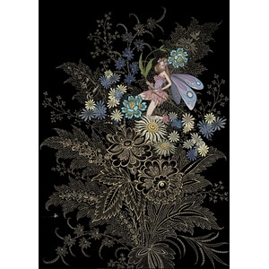 "Kort BUG ART,Jewels ""Flower Fairy"""