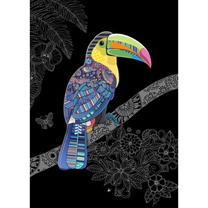 Kort BUG ART,Jewels, Toucan