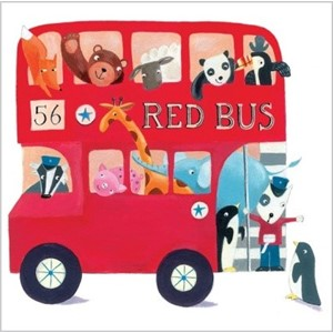 Doble kort, 140x140, Piece of Cake, Big Red Bus