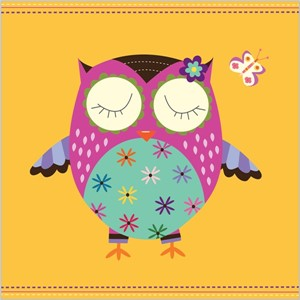 Kort 140x140, Piece of Cake, Bright Owl
