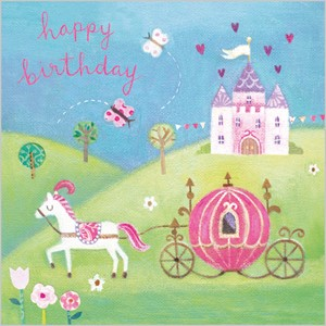 Kort 140x140, Piece of Cake, Cinderella Carriage