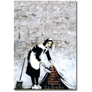 Doble kort 120x170mm, BANKSY, Camden Maid