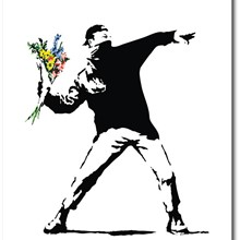 Full Colour Black (Banksy)