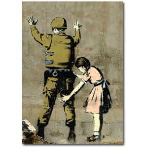 Doble kort 120x170mm, BANKSY, Soldier Frisk