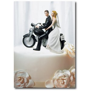 Doble kort 120x170mm, Caketoppers, Bikers