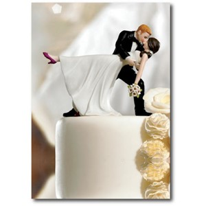Doble kort 120x170mm, Caketoppers, Romantic