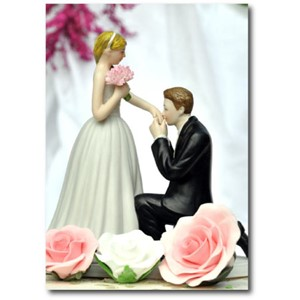 Doble kort 120x170mm, Caketoppers, Prince Charming