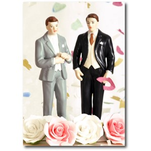 Doble kort 120x170mm, Caketoppers, Two Guys