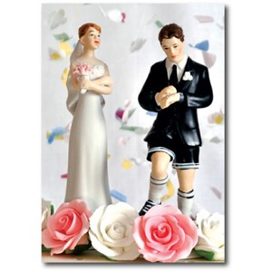 Doble kort 120x170mm, Caketoppers, Football Mad