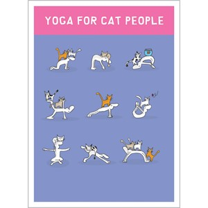 Kort, Harolds Planet 170x125, Yoga for Cat People