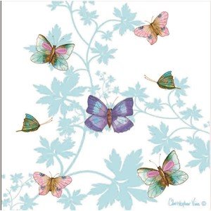 "Kort 160x160, Christopher Vine Design, ""Butterfly House"""