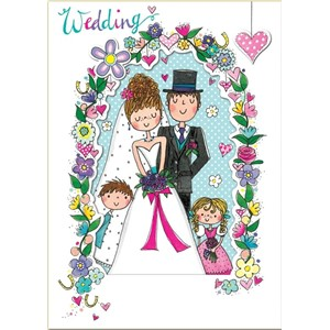 Doble kort 178x126, Wonderland, Wedding