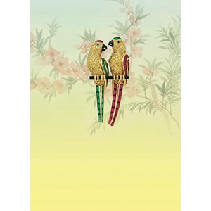 Kort 178x122 Crystal Collection, Parrots