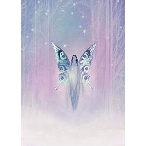 Kort 178x122 Crystal Collection, Fairy Queen