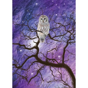 Kort 178x122 Crystal Collection, Owl