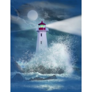 Kort 178x122 Crystal Collection, Lighthouse