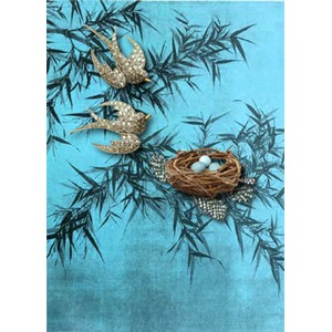 Kort 178x122 Crystal Collection, Bird's Nest