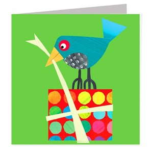 Doble kort 142x142, The Square Card Co, Bird