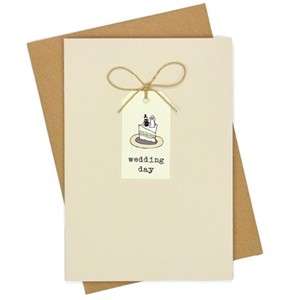 Doble kort, 105x152, Tag Cards, Wedding Cake