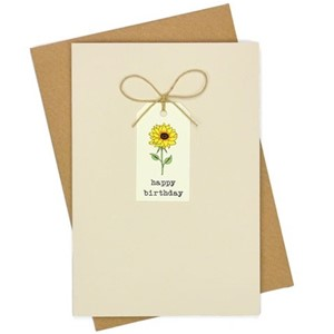 Doble kort, 105x152, Tag Cards, HB Sunflower