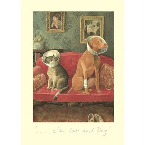 Kort Two Bad Mice: Like Cat & Dog