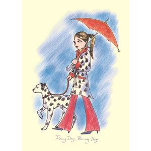 Kort Two Bad Mice: Rainy day, rainy dog