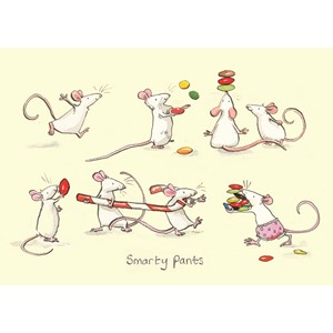 Kort Two Bad Mice: Smarty Pants