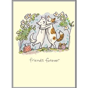 Dobbelt kort Two Bad Mice, 100x150: Friends forever