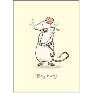 Dobbelt kort Two Bad Mice, 100x150:Big Hugs