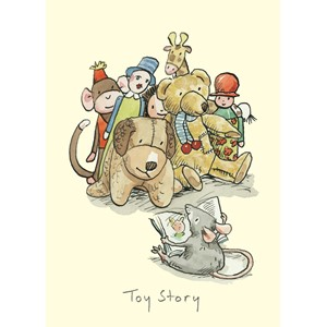 Dobbelt kort Two Bad Mice,100x150, Anita Jeram, Toy Story