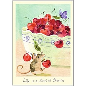 Kort Two Bad Mice: Life is a Bowl of Cherries