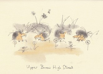 Kort Two Bad Mice: Upper Burrow High St.